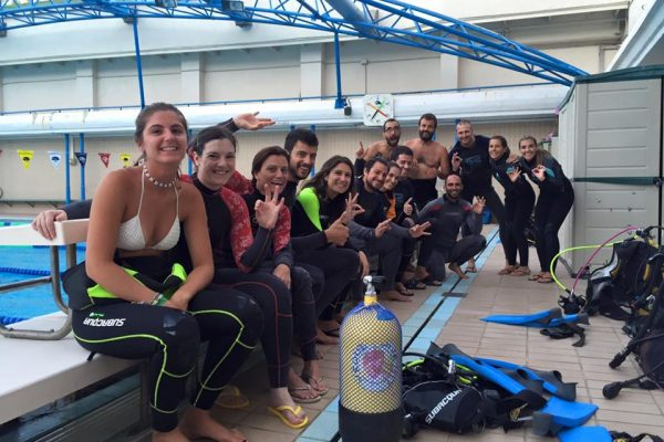 piscina curso open water
