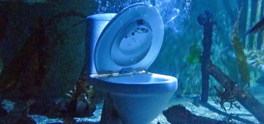 underwater toilet
